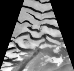 Viking Orbiter image of  Martian surface sand dunes (nasa.gov)