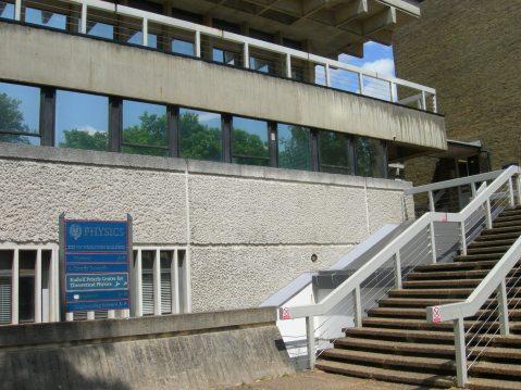 2015 718 Trip to Oxford Uni -  Physics Dept.