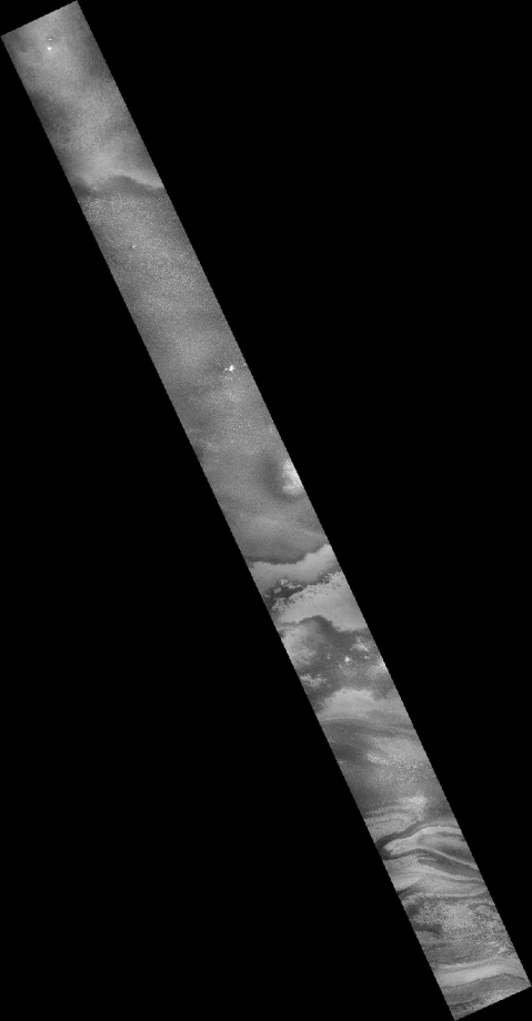 CTX image B08_012814_0962_XN_83S173W of a portion of the South Polar Layered Deposits - Image Credit:NASA/JPL-Caltech/Malin Space Science